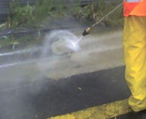Limpieza con agua a presión